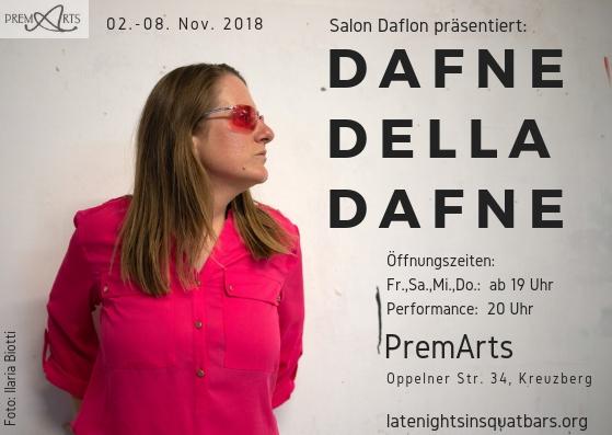 Dafne Della Dafne PremArts flyer